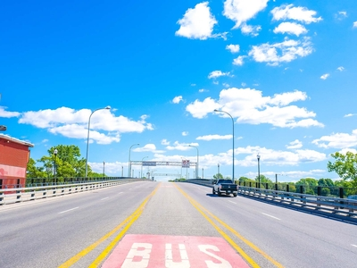 Drive across the Pont-Viau bridge and you'll quickly be in Montreal